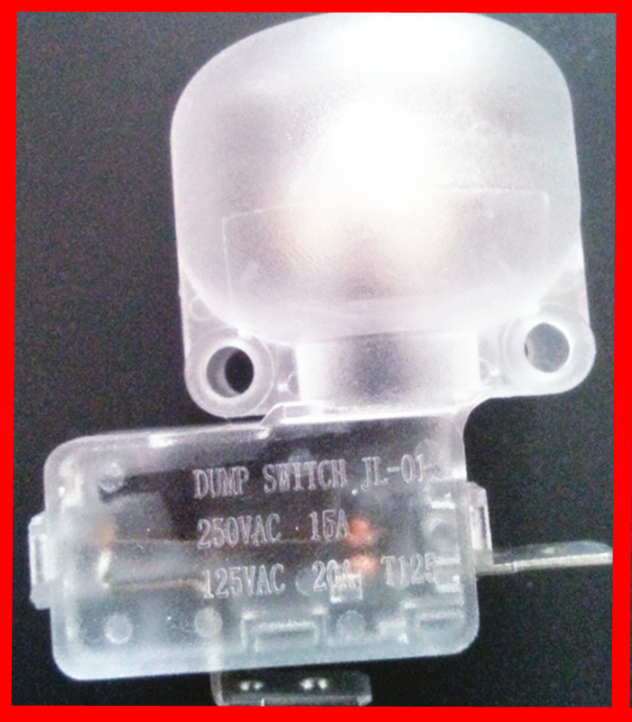 Safety tip over switch with CE dump switch tip-over protection switch for room heater