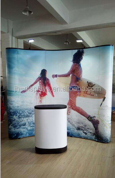 Portable Fabric Display Advertising Pop Up Banners