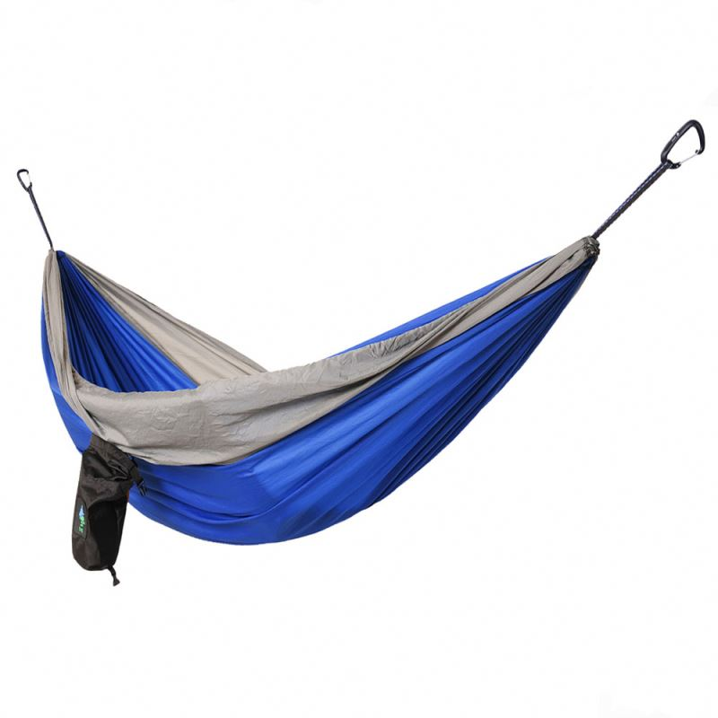 2017 NEW double swing chair screened hammock with canopy and stand