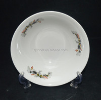 Sunny01 round white porcelain bowl with beautiful appearence