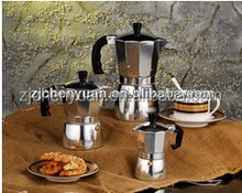 2016 Italian Aluminum Copper Coffee Pot High Quality 3 cups High Quality Threads Guarantee Safety For Use