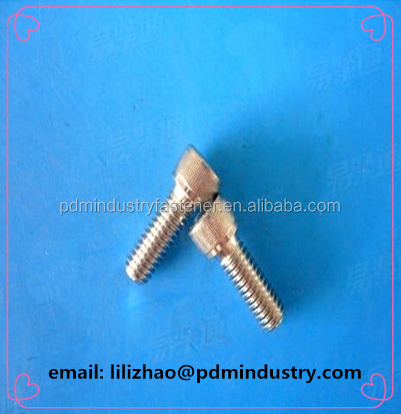 m2 m2.5 m8 stainless steel full thread allen bolt socket head cap screws