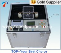 Transformer Oil BDV Tester with automatic operation system is used to online monitor transformer oil's dielectric strength