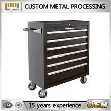 customizable mobile trolley with mesh for factory and storage and workshop
