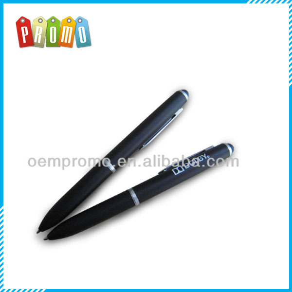High-grade conductive touch stylus ballpoint pen,high quality metal ballpen