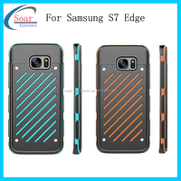 Hot sell high-end top fashion hit color phone case for Samsung S7 edge,protective case for Samsung S7 edge