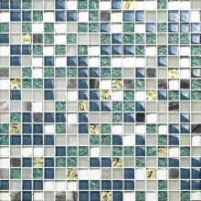 Square Shape and Glass Material mosaic tile