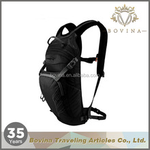 Mountain biking or running hydration backpack with water bladder