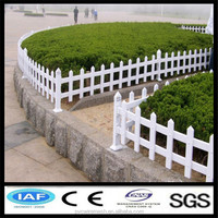 PVC coating lawn edging fence
