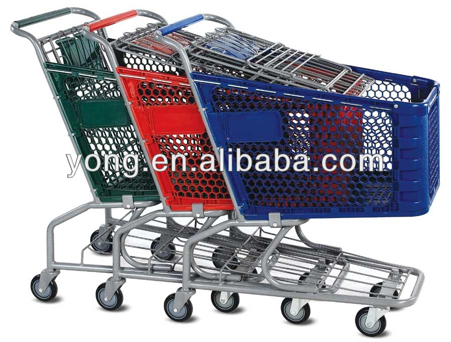 4 wheel shopping trolley bag for sale