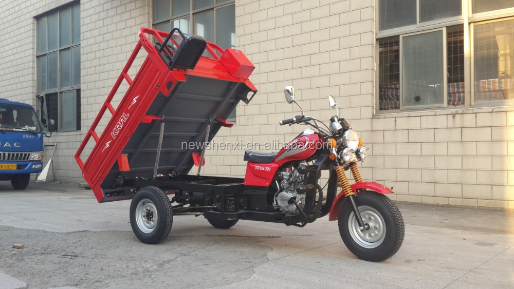 Certificate COC CE EEC Heavy Large Cargo Box 200cc Three Wheels Motorcycle Tricycle for China sale