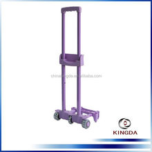 Fashion luggage telescopic plastic luggage handle/suitcase handle