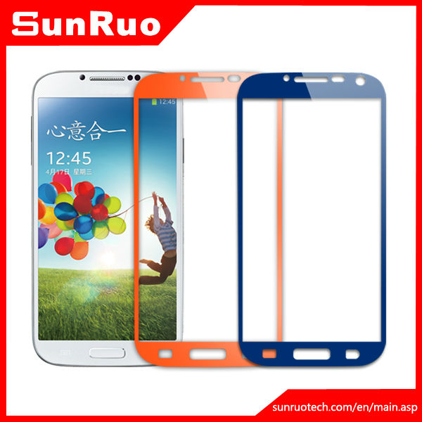 Manufacture,Color ,Tempered Glass Screen Protector for Samsung S4 for N9500