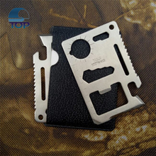 multi tool card Black card sharp multifunction knife Survival Kit Type 11 in 1 Camping multifunction knife