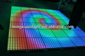 DJ booth equipment p50 led colorful dance floor interactive YS-1503