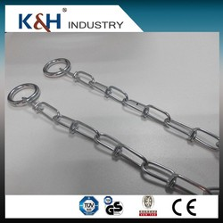 High Quality galvanized DIN5686 1.8MM double loop chains