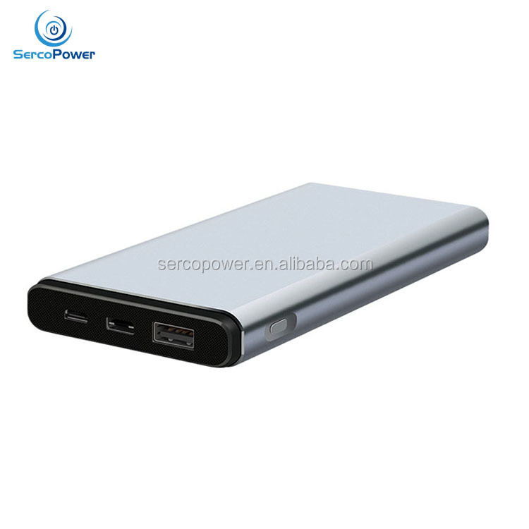 2017 New Type C 10000mah Power Bank, High-energy Mobile PowerBank