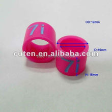Custom design Silicone and Rubber finger ring