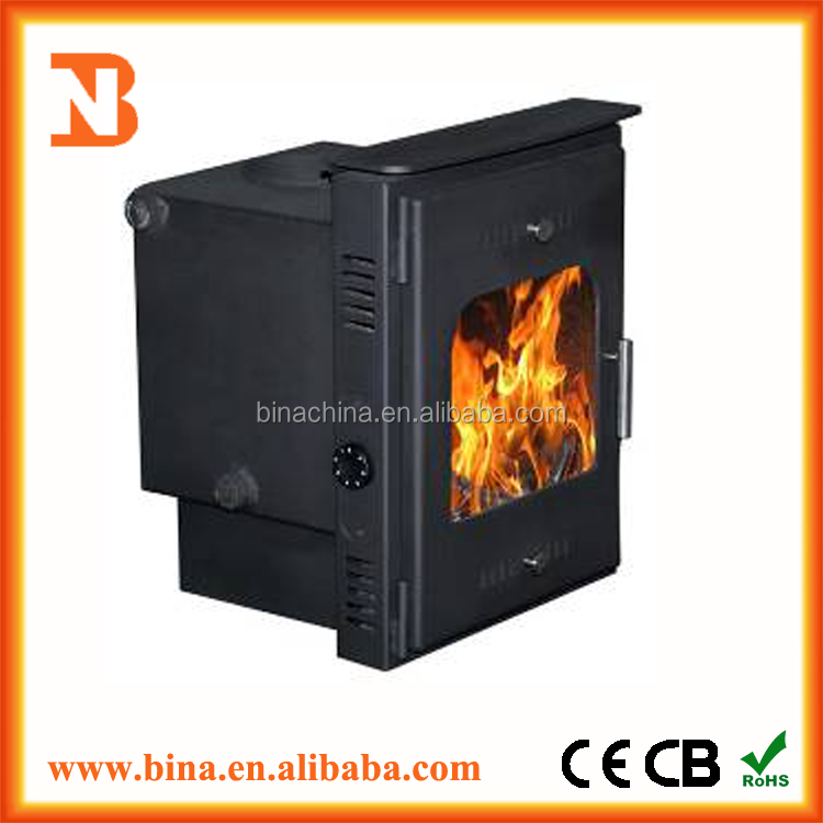 Good quality antique cast iron wood burning stoves