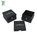 custom logo printed paper shaped fancy perfume box packaging