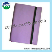 Decorative leather notebook