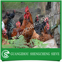 1/2 inch pvc coated lowest price chicken wire mesh, chicken wre fence