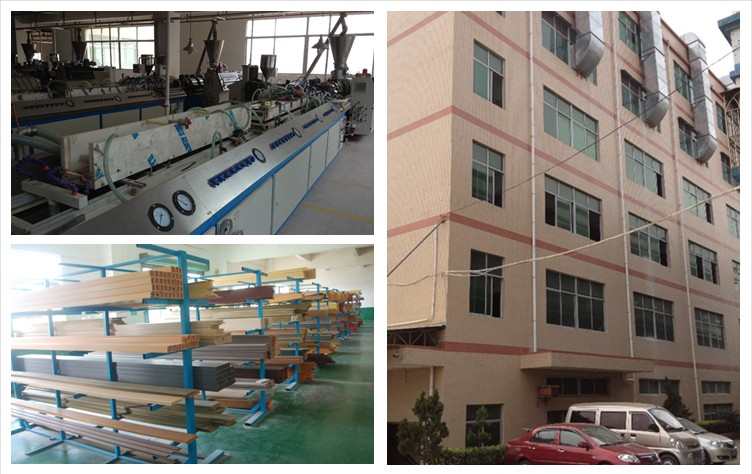 100% recyclable eco friendly co-extrusion wpc decking
