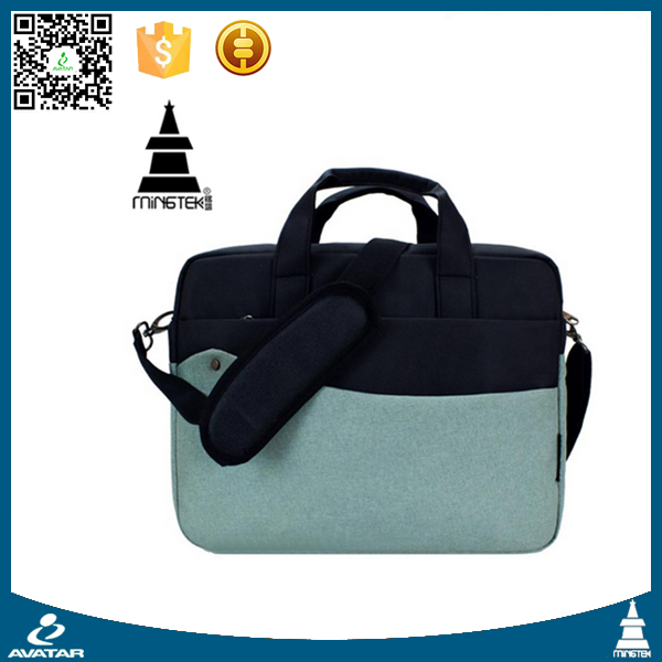 China wholesale cheap simple design laptop bag fashionable notebook case