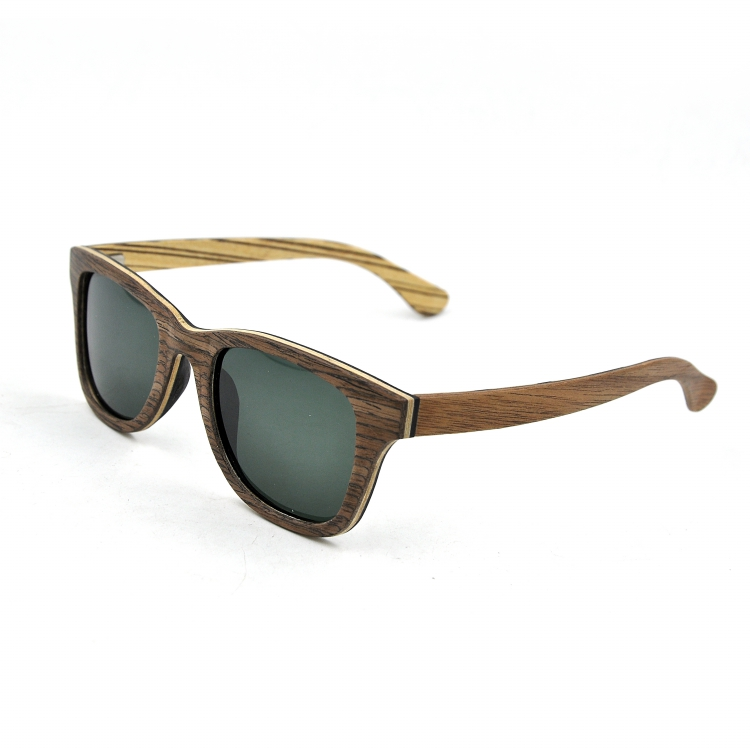 Polarized sun glasses special color promotional bamboo wood sunglasses