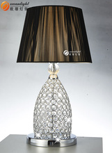 crystal fabric table lamp home goods crystal table lamps OB003-1T