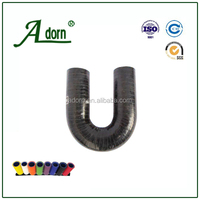 Intercooler coupling 3 ply u-shape bend silicone hose
