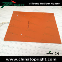 Heat Transfer Flexible silicone rubber heat resistant mat