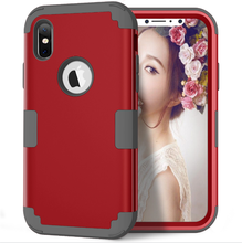360 degree protective case for iphone x full covered slim armor cases for iphone x case cell phone cover