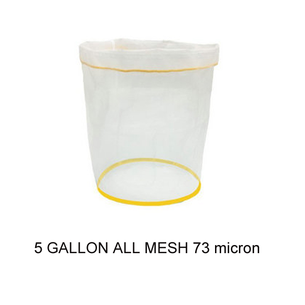 Bubble bag Machine 5 gallon wash bag with 220 micron
