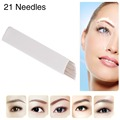 CHUSE S21 Permanent Eyebrow Makeup Manual Tattoo Cartridge Needle/Blades