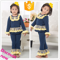 Wholesale hot baby nightwear autumn clothes for kids