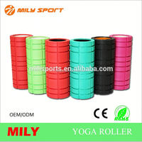 High quality colorful smooth round yoga massage foam roller cheaper