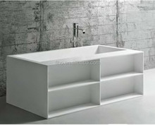 European design big size free standing portable bathtub for adults