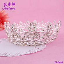 Hair accessories fashion jewellery pageant crowns full round tall pageant crown big pageant crowns