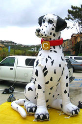 Inflatable promotion lovery inflatable dog model
