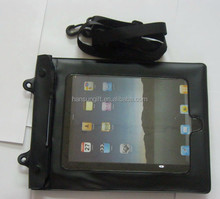 Tablet pc pvc waterproof bag for outdoor