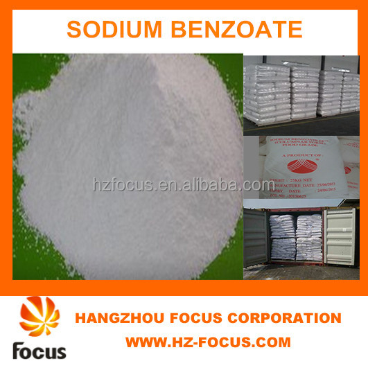 food additives Sodium benzoate common type of food preservative and is the sodium salt of benzoic acid