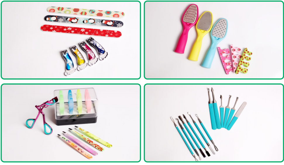 hot selling colorful baby nail clipper set