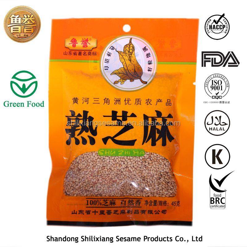 100% Roasted White Sesame seeds 45g