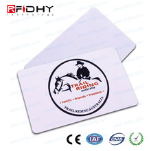 Silk Screen Printing Embossed rfid contactless card for PVC card printers and supplies