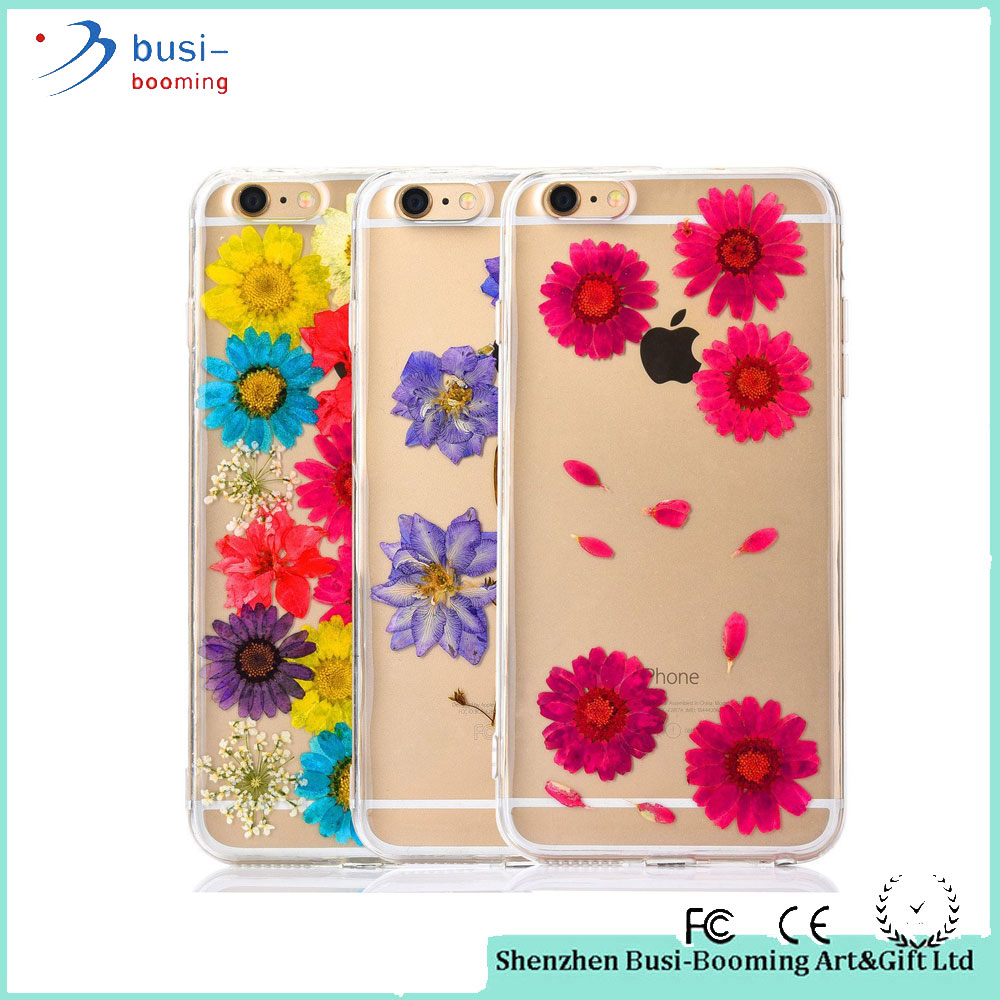 2015 FLOVEME Fashion Pressed Dry Flowers PC Back Cover Phone Case For Lenovo A7000 In Stock