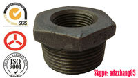 241 Bushing Black thread banded Malleable Iron Pipe Fitting //Manufacturer