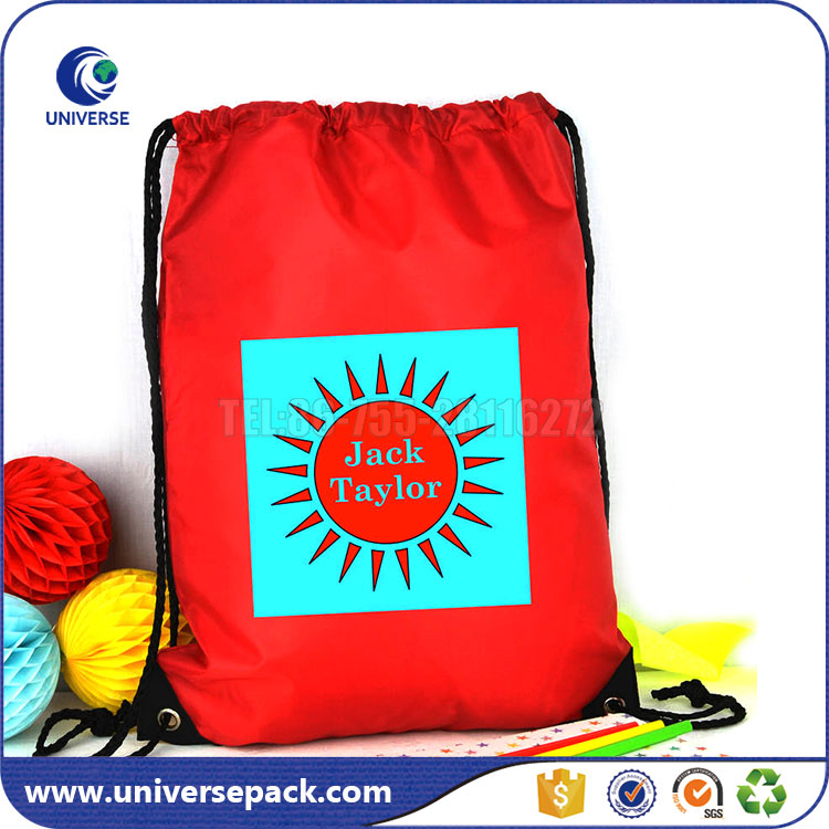 Backpack drawstring Cotton bags promotion With Custom Printing