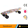 longboard with logo / professional skateboard complete