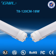 1200mm 18W 120lm/w DLC UL listed led tube t8